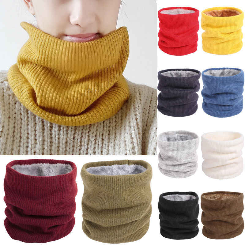 af9a1e6e274af Neck Warmer Snood Scarf Hat Women Men Ski Winter Warm Thermal Fleece  Snowboarding