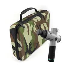 купить Shockproof Storage Bag For Hypervolt Fascial Massage Waterproof Scratch-Proof Shockproof Carrying Case Black High Quality дешево