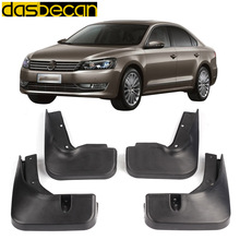 Dasbecan Car Mud Mudguards For Volkswagen Passat B7 2012-2015  Car Fender Accessories Splash Guard  Paneling 2012 2013 2014 2015 car styling abs front rear door mud splash flap guard fender for honda cr v 2015 crv 4dr mudguards 2012 2013 2014 2015 black