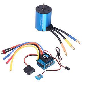Image 3 - 3650 3900KV 브러시리스 모터 및 방수 60A/120A 브러시리스 ESC 전기 속도 컨트롤러 콤보 세트 1/10 RC 자동차 액세서리