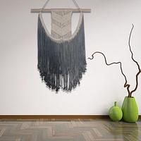 Macrame hand woven Bohemian tapestry creative studio bedroom Nordic style tassel wall hanging Home Decor Wedding Christmas O3