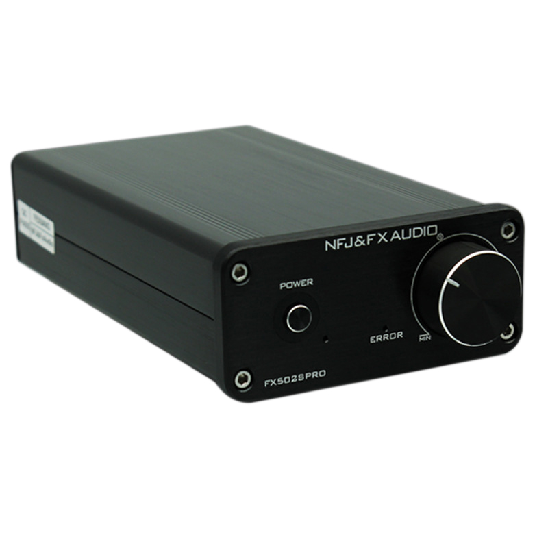 NFJ&FXAUDIO FX502S PRO HIFI 2.0 Audio Digital High Power Amplifier Home Mini Professional Amp TPA3250 NE5532 x2 70W x2