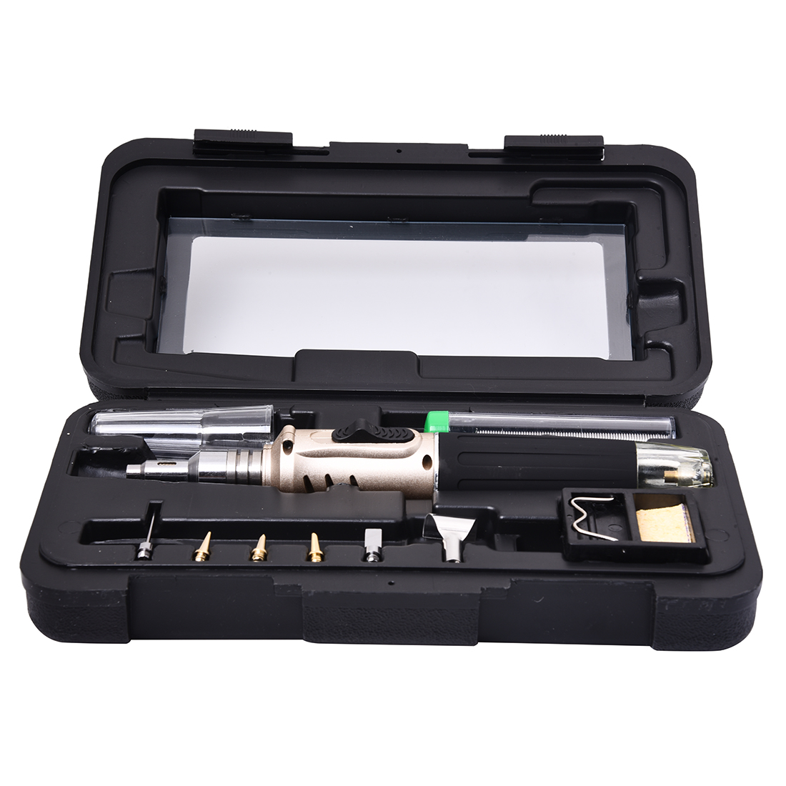 SNNY-HS-1115K Professional Butane Gas Soldering Iron Kit Welding Kit Torch image