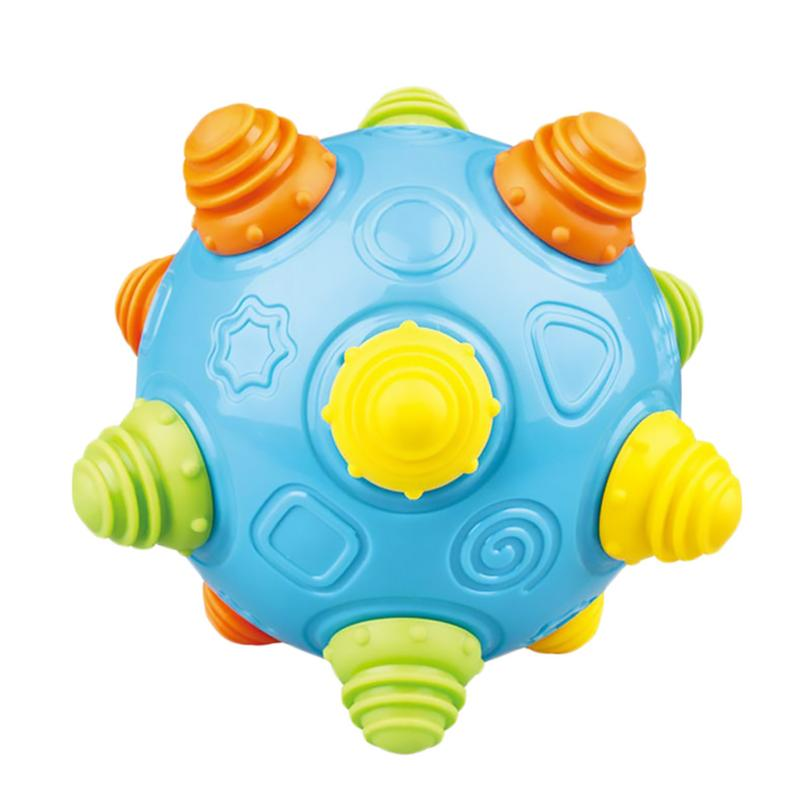 Raise Toy Baby Sensory Toys Music Shake Dancing Balls For Toddlers Sensory Balls For Baby Kids Newborn