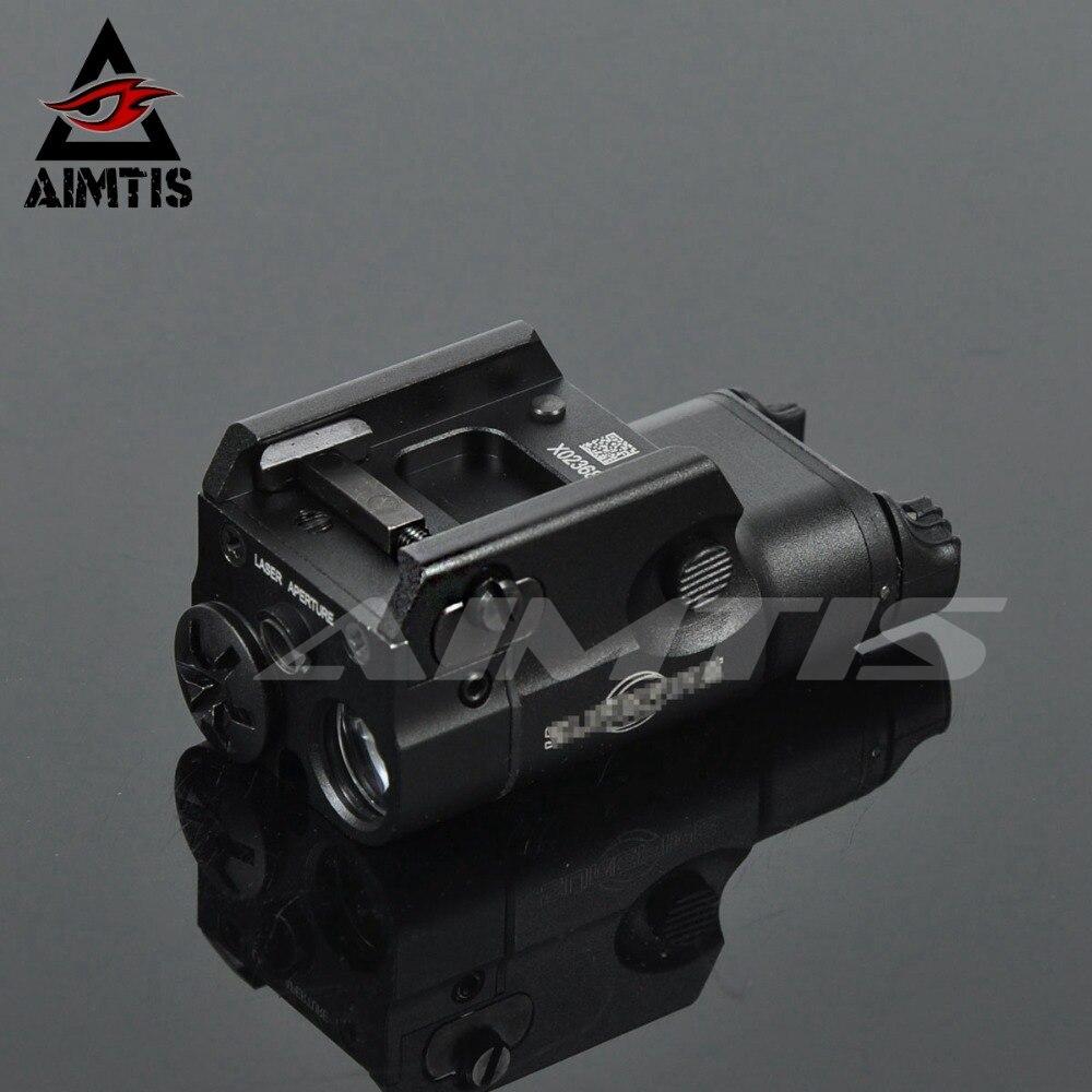 aimtis xc2 luz laser compacto pistola lanterna com ponto vermelho laser tatico led mini luz branca
