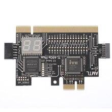 Универсальный ноутбук и ПК PCI PCI-E mini PCI-E LPC материнская плата диагностический тестовый анализатор тестовые er отладочные карты для настольного ноутбука