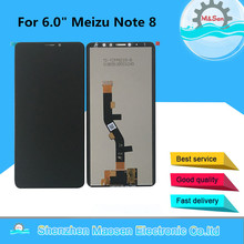 """6.0"""" Original M&Sen For Meizu Note 8 M822H LCD Screen Display+Touch Panel Digitizer Screen For Meizu Note 8 Frame Display Lcd"""
