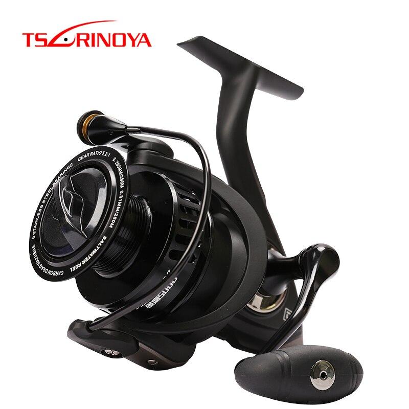 TSURINOYA Fishing Reel FALCON 2000 3000 4000 5000 8+1BB Freshwater Saltwater Feeder Reel Long Casting Spinning Carp Reel Wheel|Fishing Reels|   - AliExpress