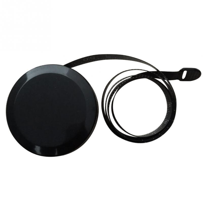 Черная лента автоматическая двухсторонняя Выдвижная мерная Рулетка ABS Гибкая мини швейная измерительная лента 1,5 м/60 дюймов #26