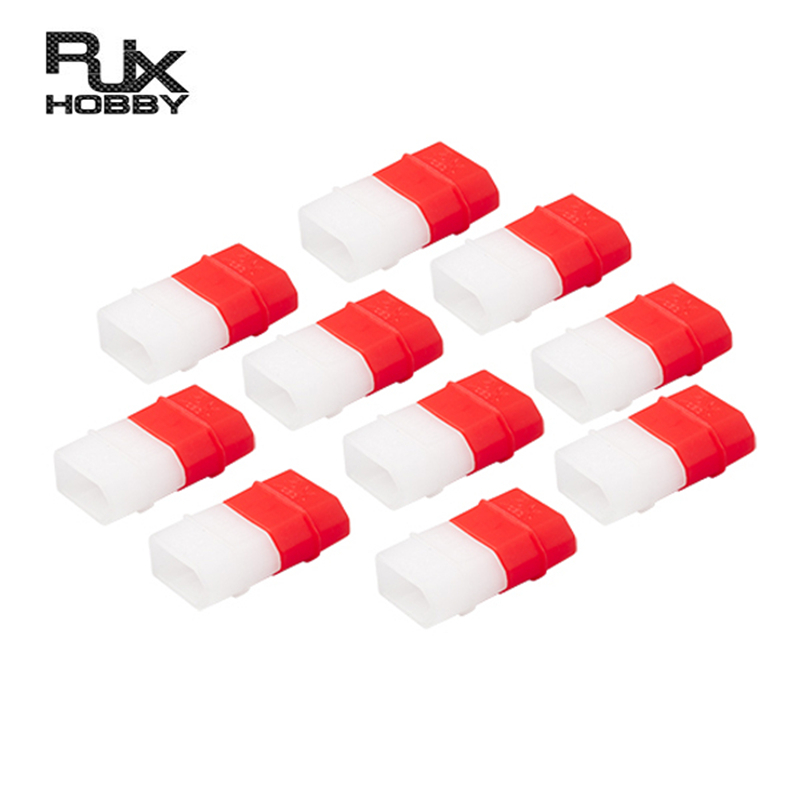 10 PCS RJX XT60 Charged Discharged LiPo Battery Indicator Caps Protective Cover For RC Drone Models Spare Part DIY Accessories
