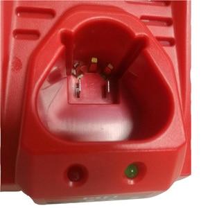 Image 2 - 3.0A 10.8V 12V Li Ion Vervanging Batterij Lader Voor M12 Milwaukee N12 48 59 2401 48  11 2402 Lithium Ion Batterij Eu Plug