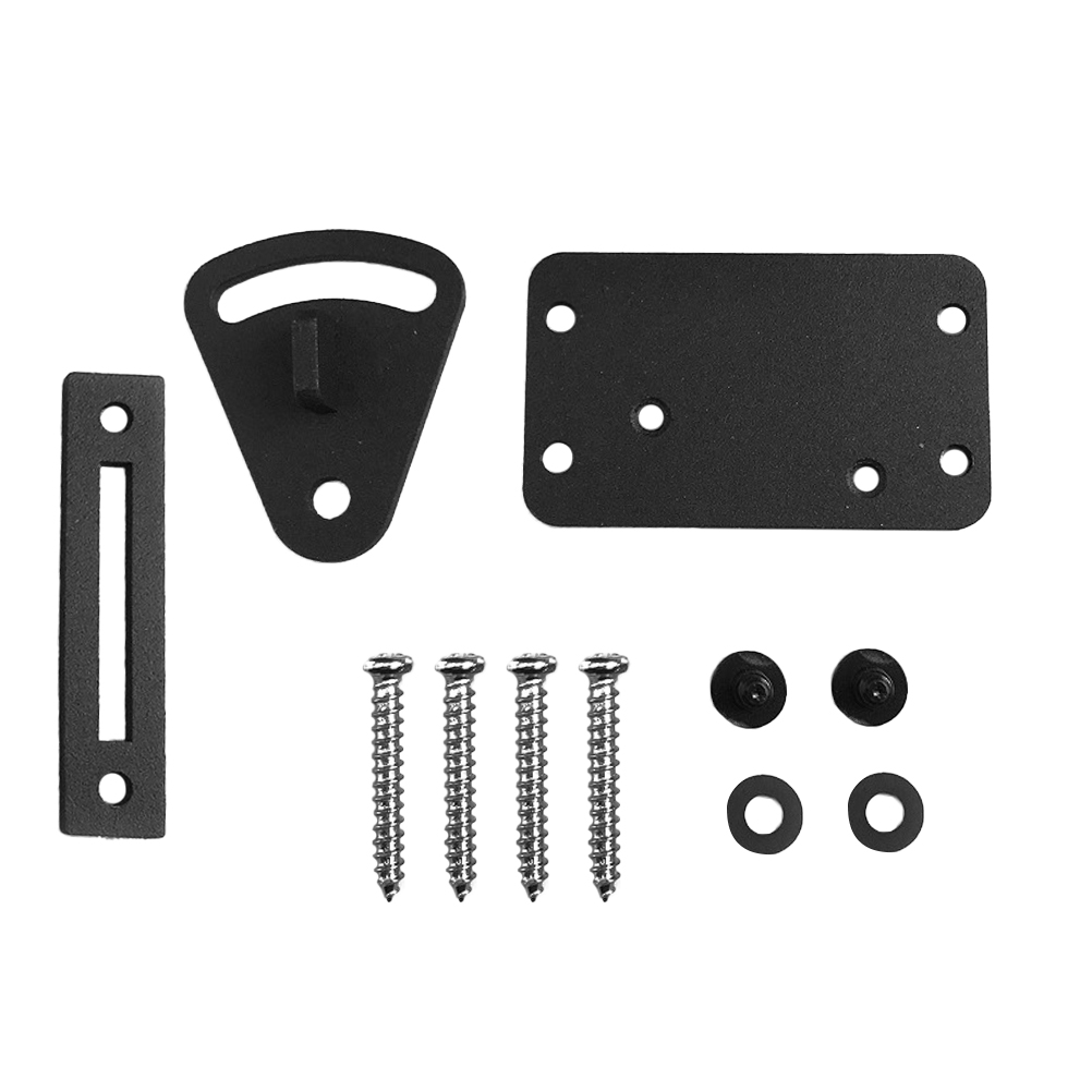 1 PC Alloy Steel Safety Door Latch Anti-Theft Durable Pull Style Door Lock Set Kit for Rolling Barn Sliding Garage Door1 PC Alloy Steel Safety Door Latch Anti-Theft Durable Pull Style Door Lock Set Kit for Rolling Barn Sliding Garage Door