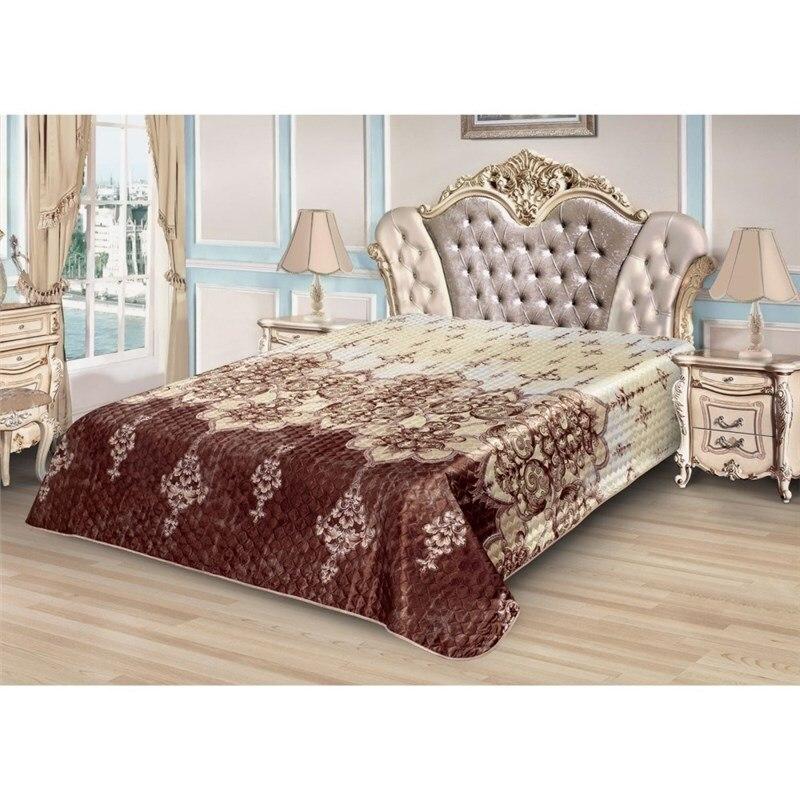 Bedspread Ethel Silk Oriental pattern, size 200*220 cm, faux Silk 100% N/E meryl lace sexy butterfly pattern butt lifting women s underpant black free size