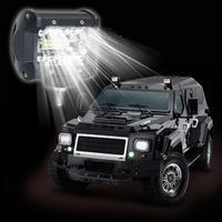 Car Roof LED Headlight 10 48V 5 Inch 60W 10800LM Waterproof Dustproof Auto Refit SUV Pickup Bar Outdoor Camping Adventure Lights