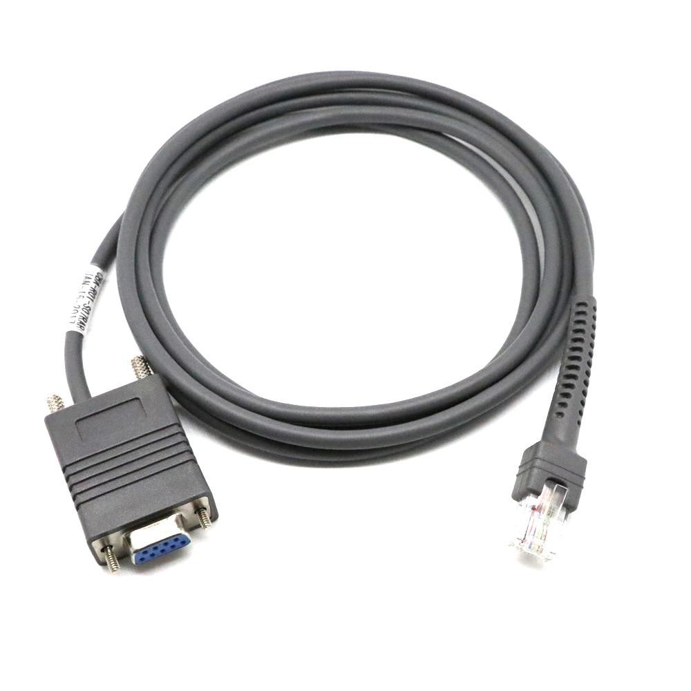 Ls2208 Rs232 Serielle Kabel Cba-r01-s07par Für Symbol Barcode Scanner Ls2208 6,5 Füße Neueste Mode