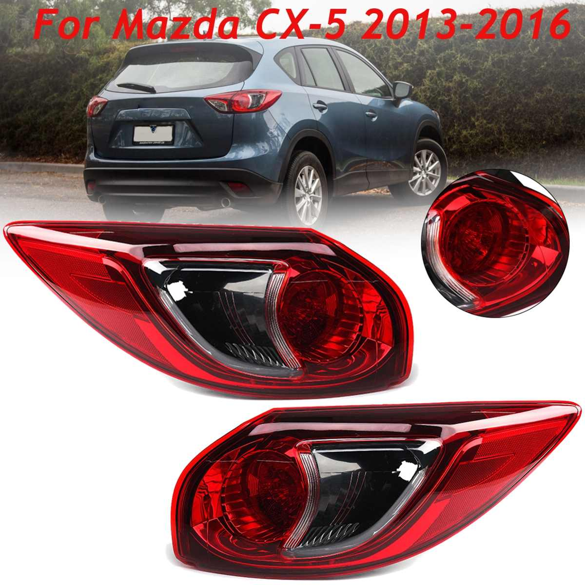 For Mazda Cx 5 2013 14 15 2016 Auto Brake Light Tail Light With No Bulb