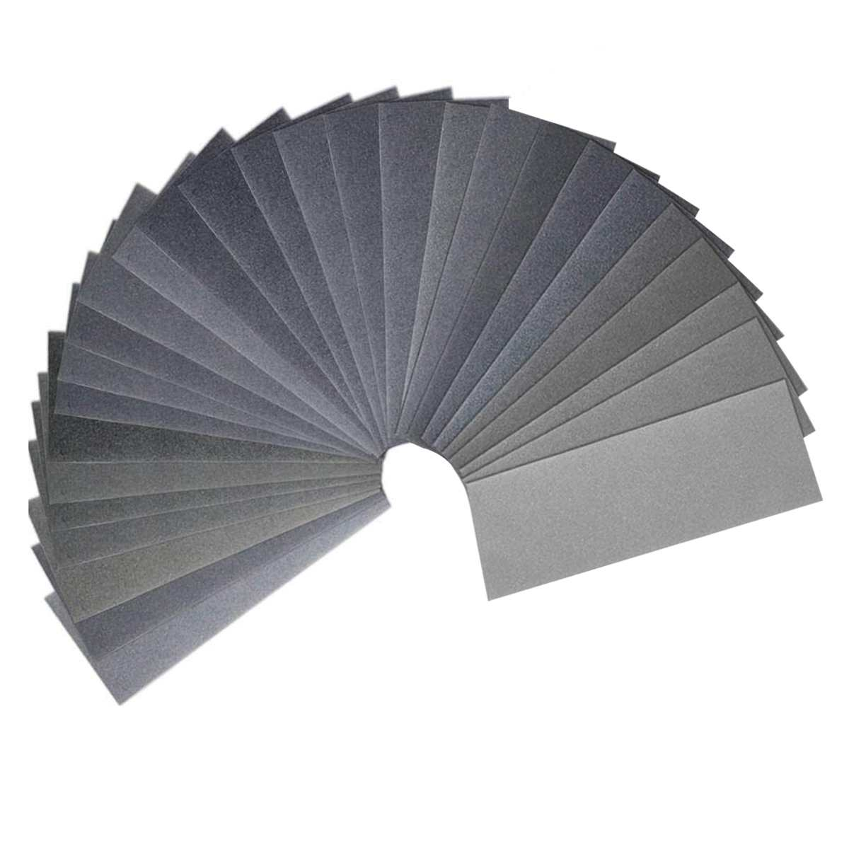 120 To 7000 Grit Wet Dry Sandpaper Assortment 9 X 3.6 Inches For Automotive Auto Wood Sanding