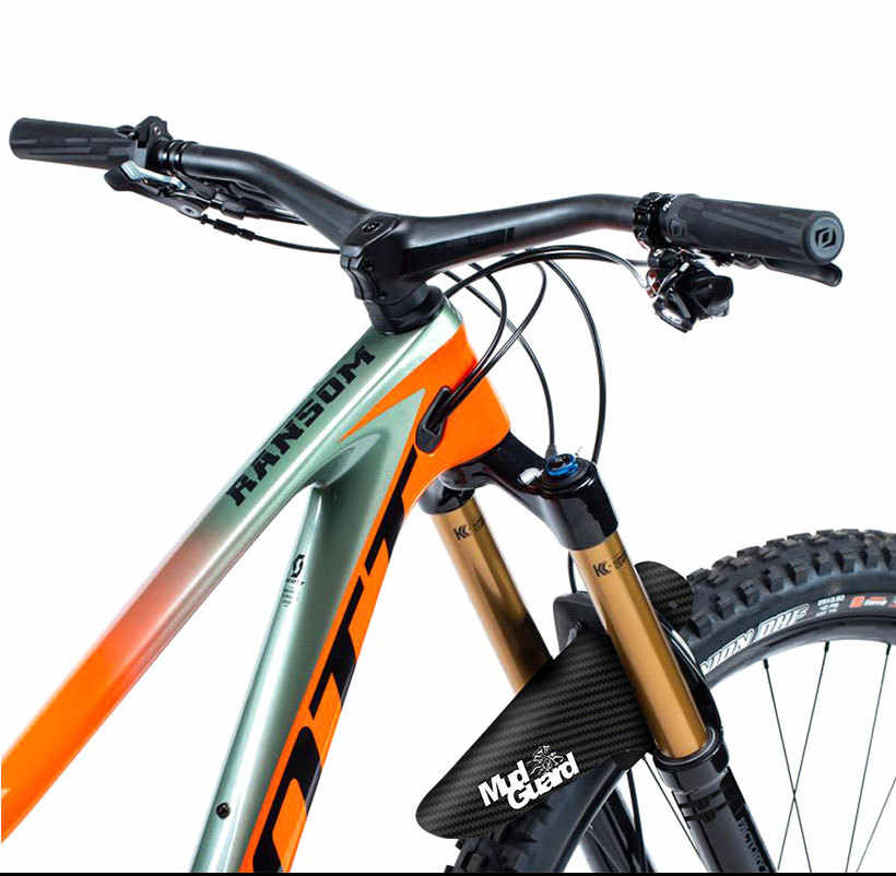 1 PC Baru Sepeda Gunung Aksesoris Mudguard 3D Carbon Fiber Twill Bersepeda MTB Fender Belakang Penjaga Sayap untuk Peta sepeda Barang
