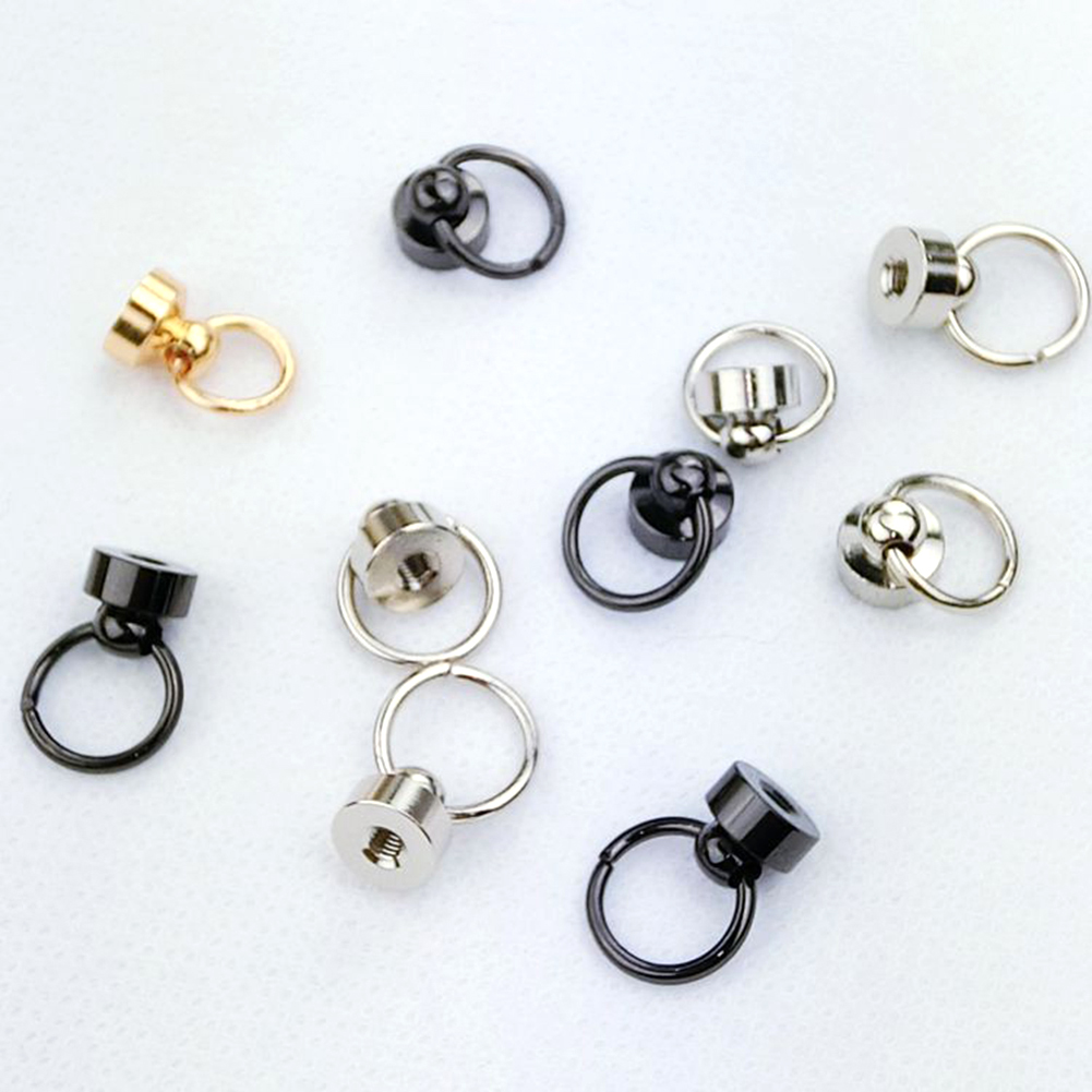 5Pcs/Lot Luggage Bag Buckle Tongs Snap Hook Ring With Screws For  DIY Bag Parts Accessories Free Shipping