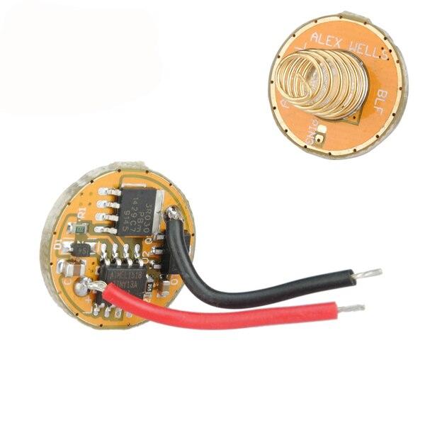 CLAITE S1/BLF A6 A17DD-L FET + 1 2.8-4.35 v 7/4 Modes lampe de poche pilote lampe de poche accessoires