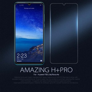 Image 2 - For Huawei P30 Lite Temperli Cam Nillkin İnanılmaz H 0.22MM Ekran Koruyucu için Huawei Nova 4e Cam 6.15 inç