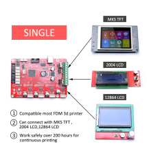 HUAFAST 3D Printer Board Controller Motherboard MKS compatible Reprap Prusa i3 Ramps1.4 Mega2560 with A4982 Drivers for ender 3