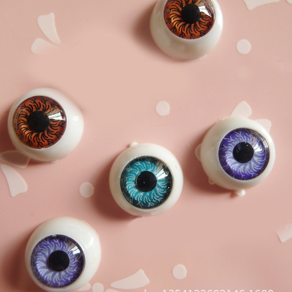 20Pcs//lot Plastic Doll Eyeballs DIY Crafts for Bear Baby Dolls Toys With washers