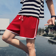 New Summer Casual Shorts Men beach board shorts Striped Breathable joggers big size woman short sea high quality waist