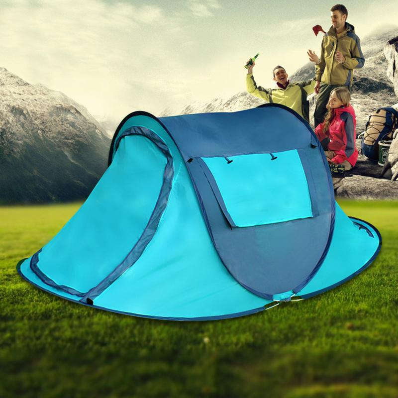 Throw Tent Outdoor 2-4 People Fully Automatic Double Tents Throwing Pop Up Waterproof Camping Hiking Large Family Beach TentsThrow Tent Outdoor 2-4 People Fully Automatic Double Tents Throwing Pop Up Waterproof Camping Hiking Large Family Beach Tents