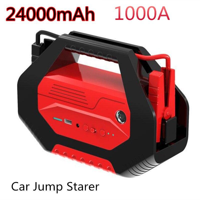 Démarreur de saut de voiture haute puissance Audew 400000 mAh 12 V/24 V USB chargeur de voiture batterie externe pour voiture Booster Buster