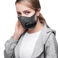 Анти-туман Электрический маска PM2.5 Спорт на открытом воздухе пыли очки Нет Туман Смарт маска для велосипед Runnning