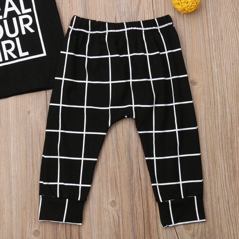 Mini Shatsu Plaid Pencil Baby Pants