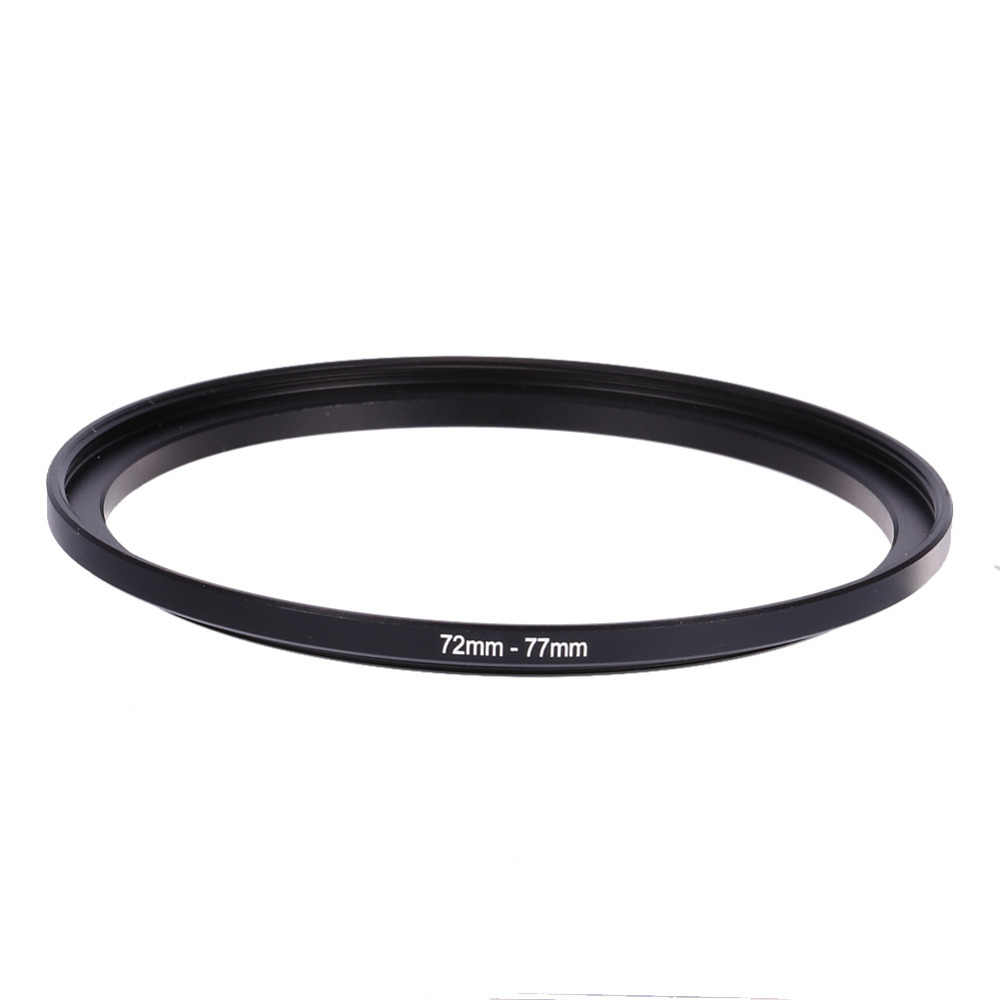Universal อะแดปเตอร์เลนส์กล้อง 72 มม.77 มม 72-77 มม.72 ถึง 77 Step Up แหวนกรองอะแดปเตอร์สำหรับ Fuji สำหรับ Nikon