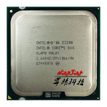 Intel Core 2 Duo E7300 2.6 GHz Dual-Core procesor cpu 65W 3M 1066 LGA 775(China)