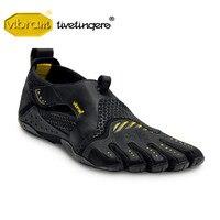 Vibram Fivefingers водных видов спорта серфинга, байдарка Для мужчин босиком пять пальцев обувь SIGNA пять носок обуви 13M0201 Водонепроницаемая Обувь Дл