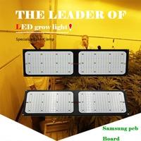 120/240 W Led Grow Light Quantum доска полный спектр samsung LM561C S6 288 шт. 3000 K DIY чип лампа для выращивания растений с питанием от источника для выращивания дома