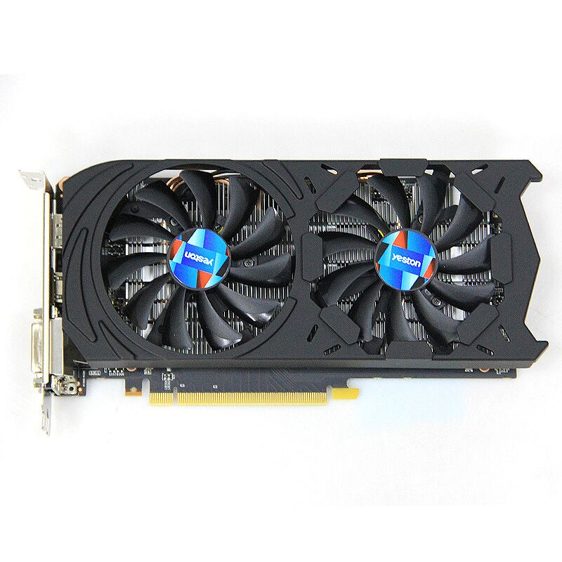 Yeston Geforce Gtx 1060 6 ГБ Gddr5 Графика карт Nvidia Pci Express X16 3,0 настольный компьютер ПК видео игр Графика карты