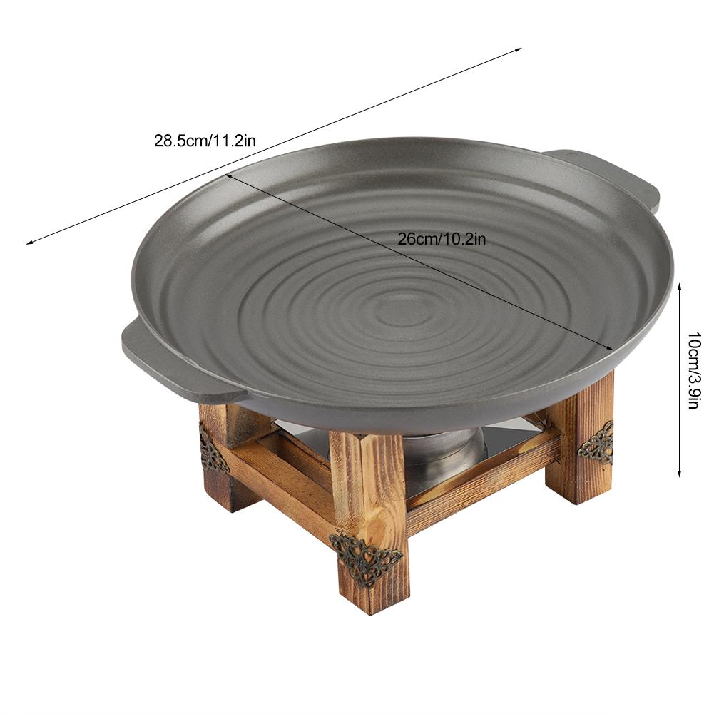 Dish Thickened Korean Grill 25cm  5