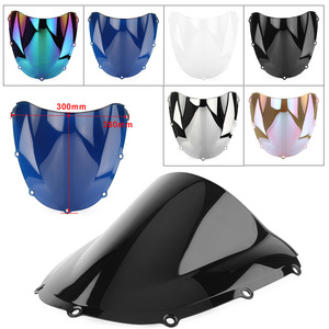 CBR954RR 2002 2003 Motorcycle Windshield Windscreen Double Bubble Wind Screen Shield for Honda CBR954 RR 2002-2003 ABS Plastic(China)