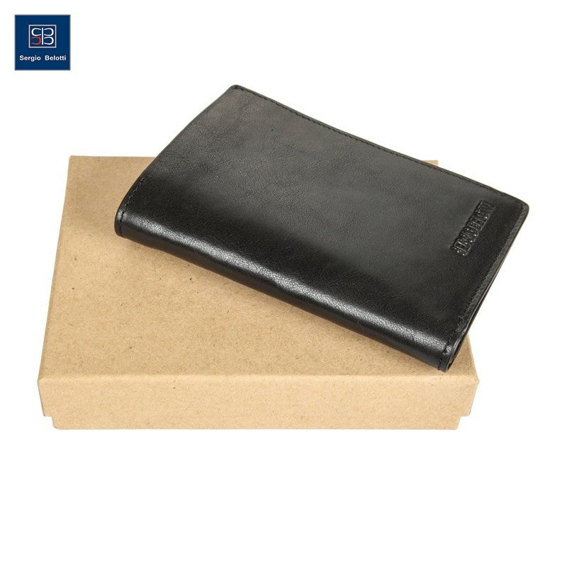 Coin Purse Sergio Belotti 3537 IRIDO black new fashion purse wallet female famous brand card holders cellphone pocket gifts for women money bag clutch coin purse ladies