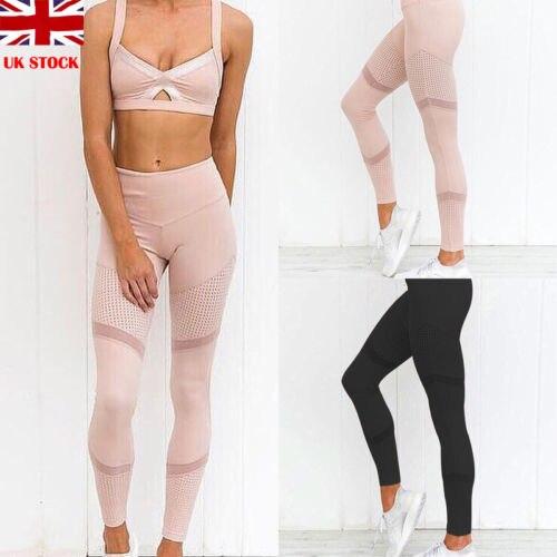 Delle Donne Di Sport Di Compressione Di Fitness Leggings Ranning Pantaloni Usura Di Allenamento Delle Signore Solid Skinny Leggings Donna Pantaloni