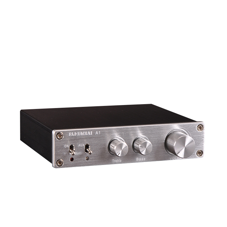 PJ.MIAOLAI A1 Bluetooth 5.0 <font><b>200w</b></font> Digital High Bass Tone <font><b>HiFi</b></font> Audio <font><b>Amplifier</b></font> Stereo Speaker <font><b>amplifier</b></font> With power adapter image