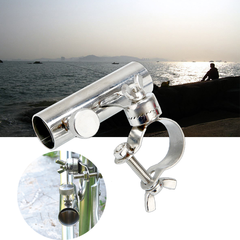 Image 3 - Stainless Steel Fishing Rod Stand Fishing Tools And Accessories Boat Rod Holder Rack Rod Pole Bracket Tool-in Fishing Rods from Sports & Entertainment