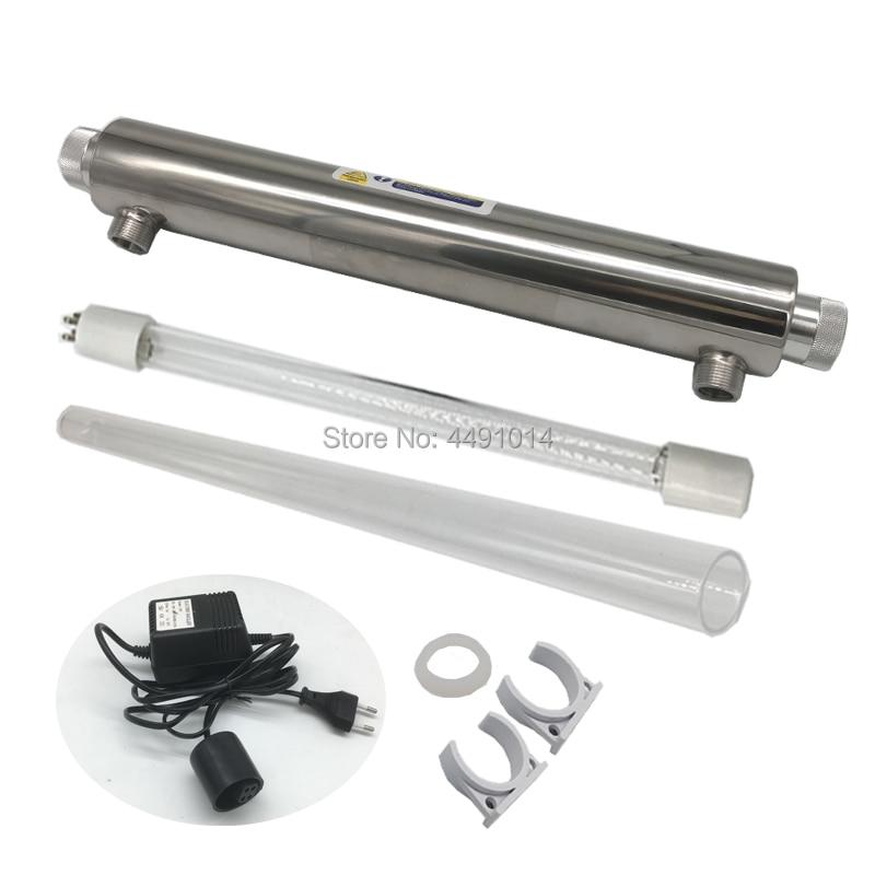 6GPM 25 W Luz Ultravioleta Esterilização 220 V Portátil Ultravioleta UV Lâmpada de Desinfecção UV Água