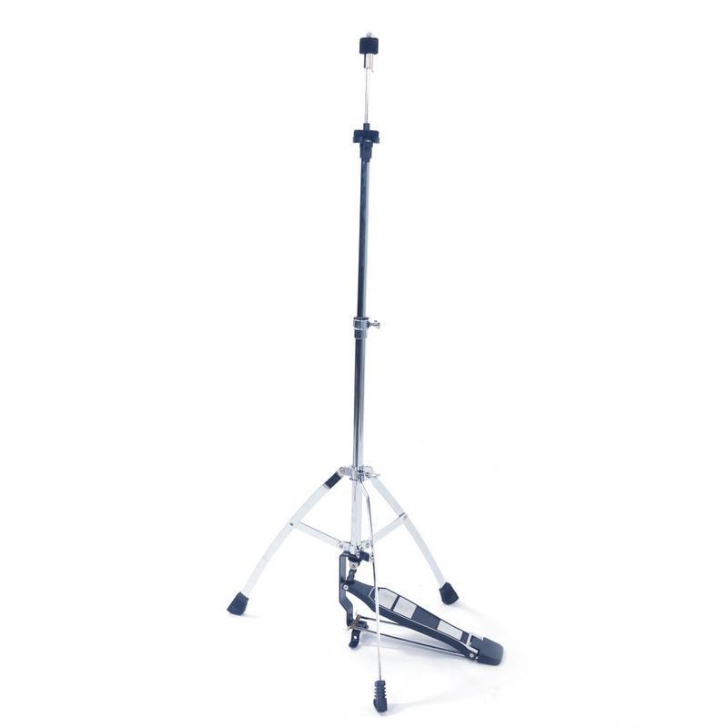 Support triangulaire professionnel pliable en acier métallique support de support de charleston avec pédale pour batterie à Percussion pièces et accessoires