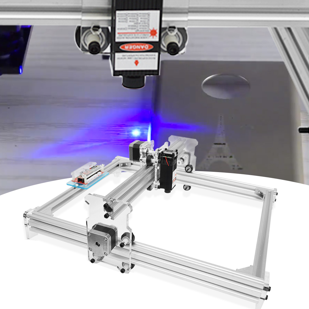500mW / 2500mW / 5500mW A3 30 X 38CM DIY Mini Laser Engraver Desktop Wood Router/Cutter/Printer Woodworking Engraving Machine
