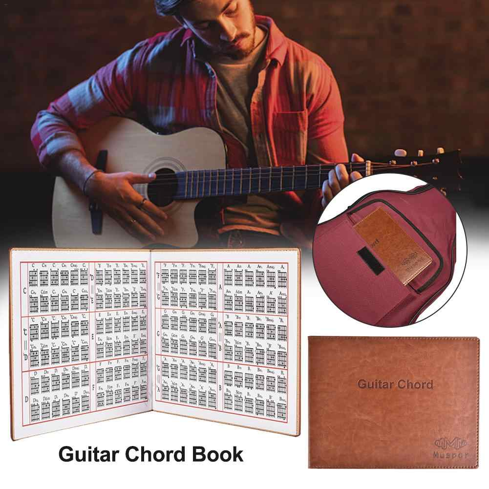 Guitar Chords For Folk Classical Guitar Electric Portable 6-string Paperback Book Guitar Accessories