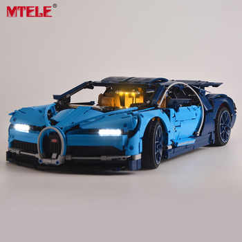 MTELE led Light Kit For Technic Series Chiron Toys Building blocks light set Compatible With Model Bugatti 42083 - DISCOUNT ITEM  25% OFF All Category