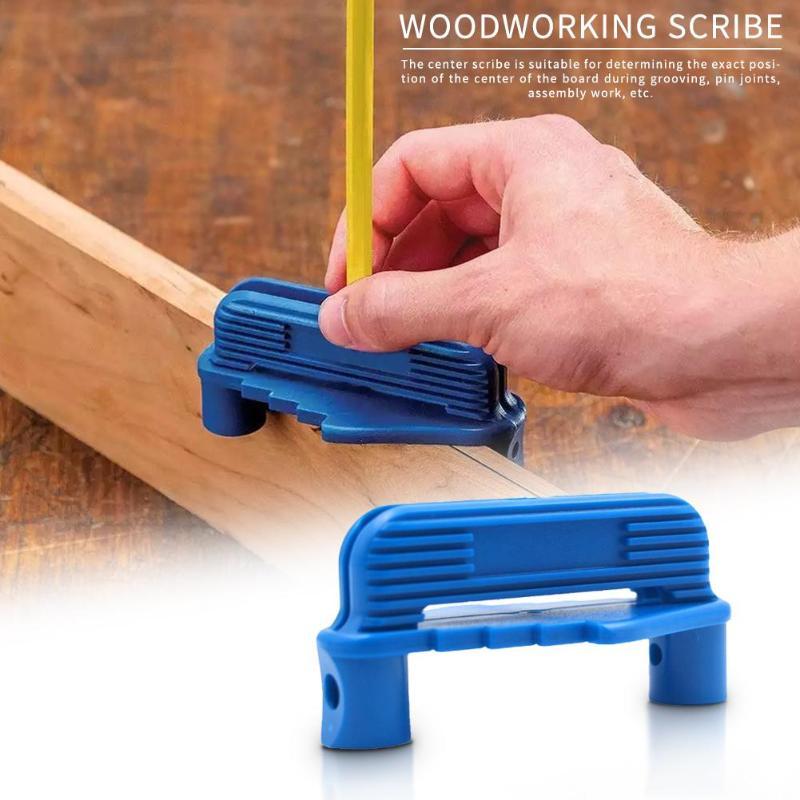 Multi-function Center Finder Scriber Accurate Woodworking Marking Gauge Tool