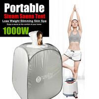 2L 220V 60Hz 1000W Indoor Foldable Steam Sauna Room Tent Loss Weight Slimming Skin Spa Portable AU Plug For Personal Health Care